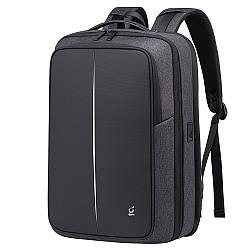 """Деловой рюкзак-трансформер Bange BG-K83, с USB портом, тремя отделениями, для ноутбука до 17"""", 25л"""