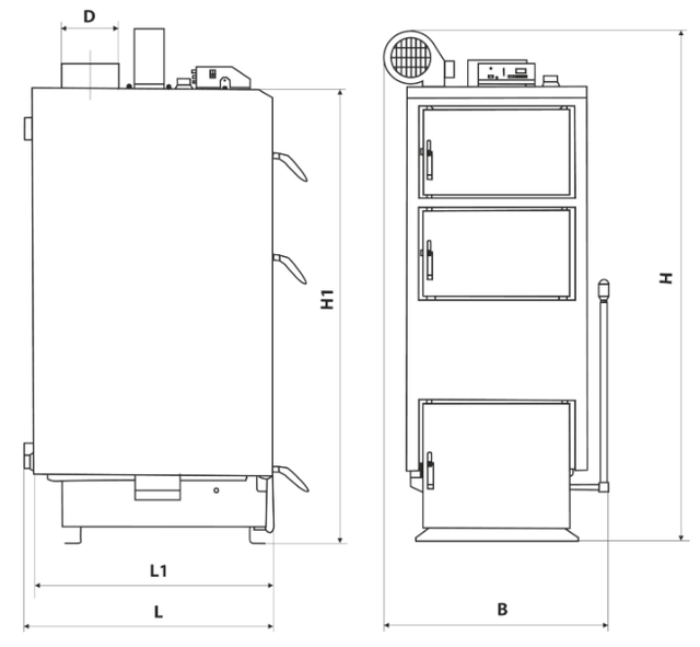 Конструкция котла Marten Comfort MC-12