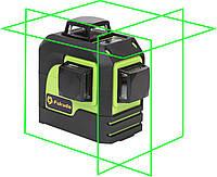 Лазерный уровень (нивелир) Fukuda 3D MW-93T зеленый луч
