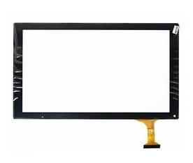 Сенсор (Тачскрин) для планшета GoClever Quantum 1010N (252*146 мм) 50 pin (Черный) Оригинал Китай