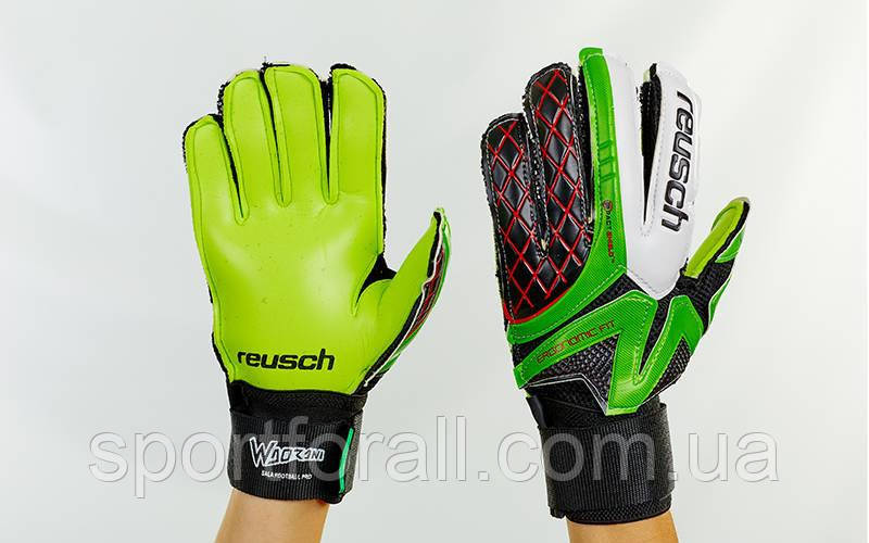 Перчатки вратарские юниорские PVC, р-р 5, 6, 7, FB-853B-1