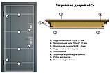 Дверь входная Двери Украины Прованс 3 кристал, фото 2