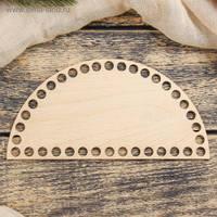 Донышки и заготовки из фанеры и для маленьких корзинок и вязания