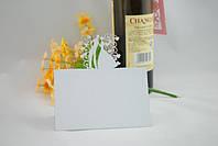 Карточка на свадебный стол (10шт) Белый перламутровый цвет