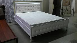 Кровать 180х200 С-2 Скай (мягкое изножье и изголовье)