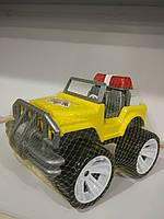 Машина джип желтый