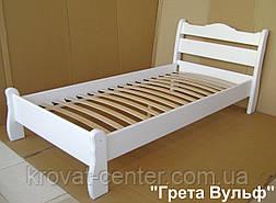"""Детская деревянная кровать """"Грета Вульф"""" белая, фото 2"""