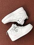 Женские зимние кроссовки Nike Air Force (белые), фото 4