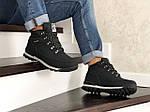 Мужские ботинки Timberland (черно-серые) ЗИМА, фото 3