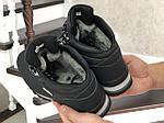 Мужские ботинки Timberland (черно-серые) ЗИМА, фото 4