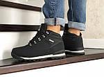 Мужские ботинки Timberland (черно-серые) ЗИМА, фото 5