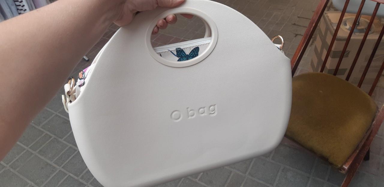 Женские сумки O BAG O moon в белом  корпусе