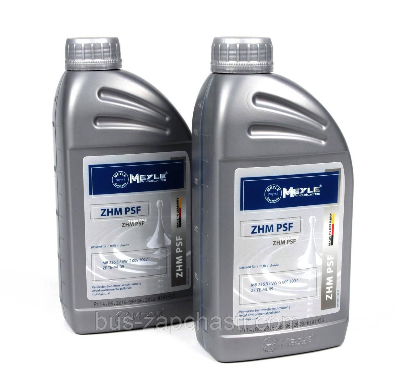 Жидкость в ГУР 1L (желтая) (Dexron II MB 236.3) — Meyle (Германия) — 014 020 6300