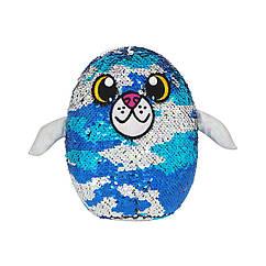 М'яка іграшка з паєтками SHIMMEEZ S3 - ТЮЛЕНЬ ДЖЕННІ (20 cm)