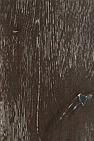 Паркетная доска Дуб однополосная трёхслойная БЛЕК Рустик, масло, фаска, замок, шип-паз, 1800-2200х180х14мм