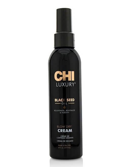 Разглаживающий крем для волос с маслом черного тмина  Chi Luxury Black Seed Oil Blow Dry Cream