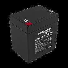 Аккумулятор кислотный AGM LogicPower LP 12 - 5,0 AH SILVER