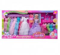 Кукла Defa 8027 фиолетовая