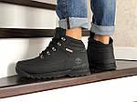 Мужские ботинки Timberland (черные) ЗИМА, фото 2