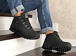 Мужские ботинки Timberland (черные) ЗИМА, фото 4
