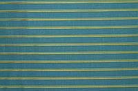 Ткань Хлопок Stella Ricci костюмная (95%-хлопок, 5%-эластан) 1.45 м бирюза с желтыми и салатовыми полосами АРТ. 171/ML63