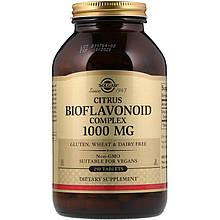 """Комплекс цитрусовых биофлавоноидов, SOLGAR """"Citrus Bioflavonoid Complex"""" 1000 мг (250 таблеток)"""