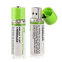 Батарейки, заряжающиеся через USB! Батарейки АА USB! Цена за штуку!