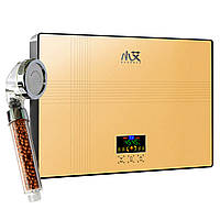 ✱Проточный водонагреватель Nux XA-65A c душем 6000В IPX4 50 Гц электрический для нагрева воды горизонтальный