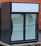 Маленький барный шкаф витрина «Norcool» (Испания), полезный объём 83 л. Б/у, фото 1