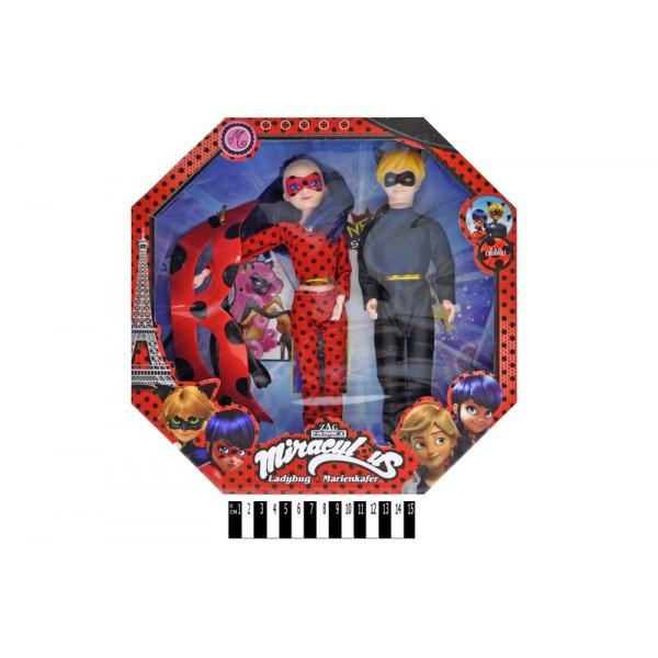 Набор Кукла Леди Баг и Супер Кот, маска, MIRACULOUS 1859G Маринетт