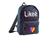 Рюкзак с принтом Likee (968-12)