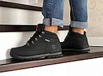 Мужские ботинки Timberland (черно-оранжевые) ЗИМА, фото 3
