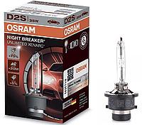 Ксеноновая лампа D2S OSRAM 66240XNB Night Breaker Unlimited +70% 85V 35W (Ксенон d2s)