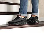Мужские кроссовки Adidas Sharks (черно-серые) Зима, фото 2