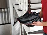 Мужские кроссовки Adidas Sharks (черно-серые) Зима, фото 3