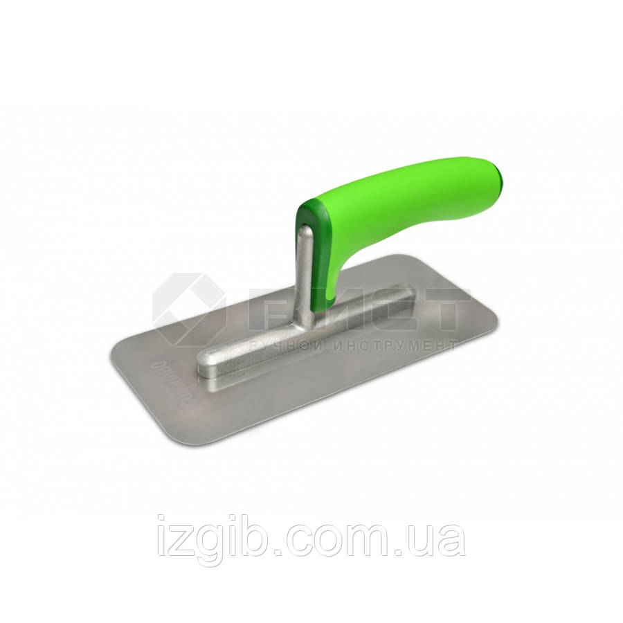 Гладилка нержавеющая для венецианской штукатурки 100х220мм - iZgiB.com.ua интернет-магазин инструмента в Днепре