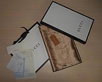 Шарф, палантин, шаль Gucci двухсторонняя, Италия, оригинал