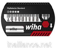 Биты набор SL 5.5 PH2 PZ1 PZ2 PZ3 T15 T20 T25 T30 HEX3 HEX4 HEX5 и магнитный битодержатель Wiha 39078