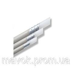 Труба полипроп. AL/PPR Stabi Ital (с алюм., не зачистная) 20х3,4 Rozma (Украина)