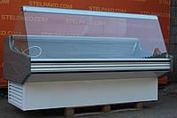 Холодильная витрина гастрономическая «Juka» 2.0 м. (Польша), широкая выкладка 75 см., Б/у, фото 1