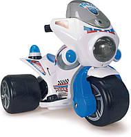 Детский электромобиль квадроцикл Trimoto Samurai Police 6V Injusa 129