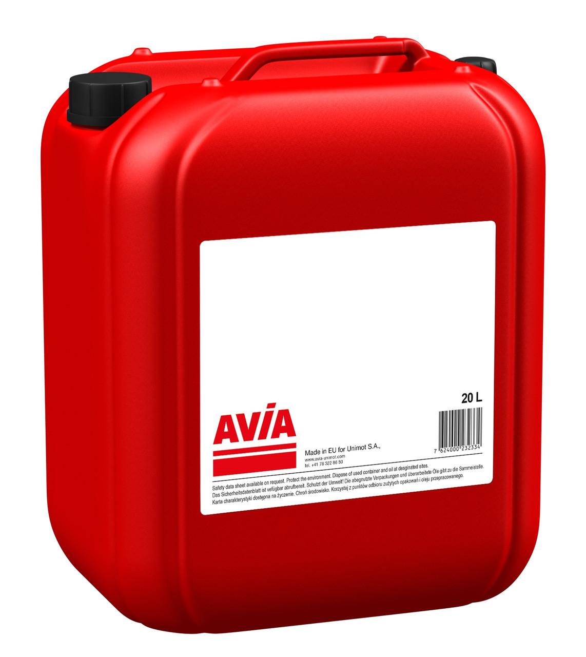 Масло трансмісійне AVIA HYPOID 75W-80 20л