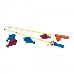 Игровой набор - МАГНИТНАЯ РЫБАЛКА (2 удочки, 4 рыбки) BT2540Z