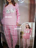 Теплая женская пижама производство Турция