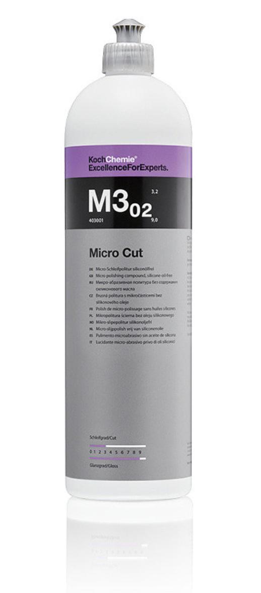 Koch Chemie M3.02 Micro Cut микрошлифовальная антиголограмная полировочная паста