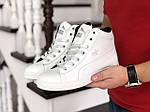 Мужские зимние кроссовки Puma Suede (белые), фото 3