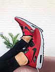 Мужские зимние кроссовки Nike Air Max Mid Winter (красные), фото 3