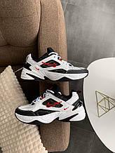 Кроссовки Nike M2K Tekno (бело-черные) - Унисекс