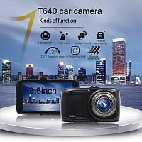 """Відеореєстратор BlackBox DVRT640 Full HD 3,5"""" екран, фото 1"""