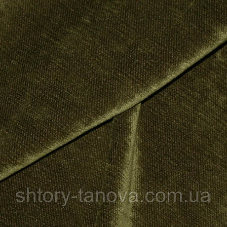 Декор шеніл одн.вольво дюз зелений